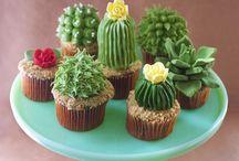 Creative Cactus desserts