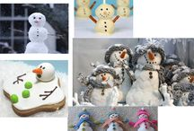 Let it Snow!  / We love snowmen. We plan on being outdoors building many snowmen, snowwomen and snowchildrenand snow everything.... and you can bet our eyes will be protected from harsh glare with our stylish and protective Haven 'fits over' sunglasses and clipons. www.havenfitsoversunwear.com