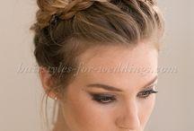 Wedding High hair buns