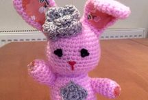 My crocheted items / Things I've crocheted.
