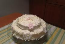 Butter cream Cake / Still  practicing...