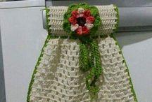 adorno de crochet para refry