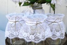 Wedding Decor - Mason Jars