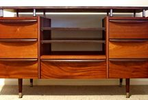 One-off Furniture Artwork / Mid 20th century furniture given a new lease of life by Rick Rubens Recreations
