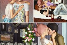 Sims 3 poses!:) / by Rebecca Mcinnes