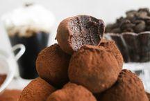 Espresso truffles