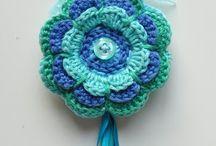 Crochet key charms