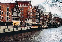 Amsterdam / Painel sobre Amsterdam. Dicas de viagem, fotografia, o que fazer e onde ir.