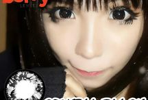 Crystal 16mm Contact Lenses / Shop now at http://shop.jeanmonique.com <3 Thanks loves! <3 #Anthea