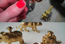 plastic dieren