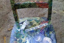 My art / I upcycle old luggage. / by Tracy Ross