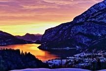 Mountain & Lake / my #mountain #lake