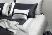 Luxury bedding, linens and upholstery