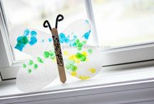 Popsicle sticks craft