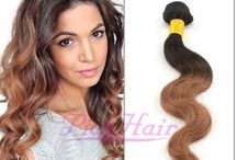 Ombre Hair Extensions / Clip in hair extensions and weaving  extensions,