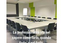 Formazione Professionale / La formazione professionale è alla base della strategia di business di un'azienda. Senza un'adeguata formazione non è possibile fronteggiare adeguatamente le innovazioni tecnologiche che ogni giorno un imprenditore deve affrontare.