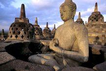 wooow....BOROBUDUR TEMPLE / Borobudur, Central Java, Indonesia.