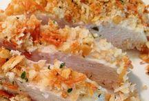 Cooking...Chicken & Pork
