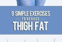 9 simple exercises for thighs