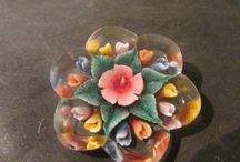 Lucite brooches