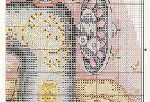 Szycie -haft krzyżykowy