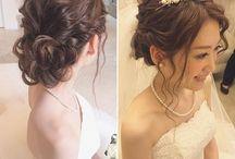 ドレスの髪型