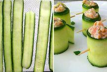 Low-Carb Snacks / Snacks für Zwischendurch, für deine Party oder als Desser/Vorspeise. Natürlich alles Low-Carb!