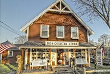 Country store & good looking shops