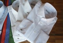 Shirts and accessories from Buczynski Individual Tailoring / https://www.facebook.com/media/set/?set=a.10151920681019844.1073741993.94355784843&type=1  #madetomeasure #buczynski #shirt #tie #bowtie
