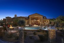 Tuscan Style Home Designs / Custom Tuscany style home custom designs by Sonoran Design Group