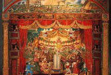 Puppet Theatres / Puppet theatres both large and small