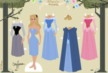 paper dolls / decoupages