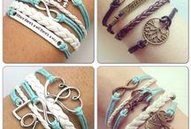 Homemade bracelets