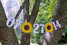 SunFlower Wedding / Inspiratie pentru o nunta cu tematica Floarea Soarelui / Sunflower Wedding Inspiration