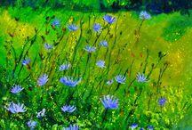 maalattu niitty