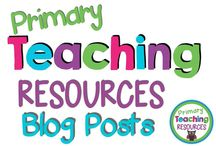Primary Teaching Resources: Blog Posts / Lessons and ideas for the kindergarten to fifth grade classroom