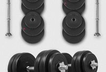 30 KG Dumbbells Set Home Workout Multi Gym Free Weights Equipment Body Fitness