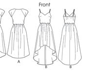 Tips, garment drawing and desing - cizimler