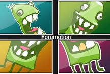 Monster Logo / Our Monster logo http://help.forumotion.com / by Forumotion- Free Forum