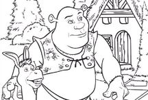 coloring pages 29 (shrek)