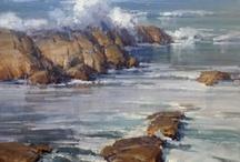 Sea photo paintings