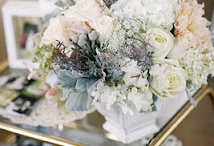Blush / Blush will remain big this year! Soft pastel colors mixed with creams, champagne, and light greens is still going so strong this season.