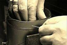 leather work / by Warren Urbik