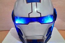 $325 FREE Shipping Worldwide (Iron Man Helmet) / Products description :  Iron man Mask made of fiber glass + the real helmet inside with good paint. * Double Shield (Black inside, clear outside) * Added 2 LED Lights. * LED lights color available : BLUE, GREEN N RED + On/Off Switch * Size Available M.L.XL * The Helmet basic has a DOT Approved * We Ship Worldwide * Color & Airbrush by Request  To see more design, Go Follow Us on #Instagram @doctorhelmet #helmet #ironman