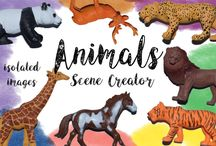 Free Scene Creators and Hero Header Images and Isolated png Files