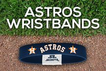 Houston Astros MLB Wristbands and Fan Gear / Shop for Houston Astros MLB wristbands and fan gear. Find your teams MLB bracelets and gear at Skootz! http://www.skootz.com/