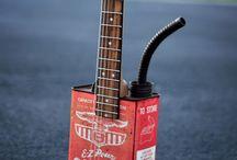 Artistic guitars