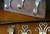 Spoon and fork crafts