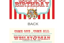 Caden's First B-Day party ideas :-) / by Carolina Cawl