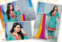 Bollywood Churidar Suit Collection  / Elegant & Stylish #Bollywood #Churidar #Anarkali Suits Collection   #styleindia. Pamper yourself and be a Bollywood Diva.